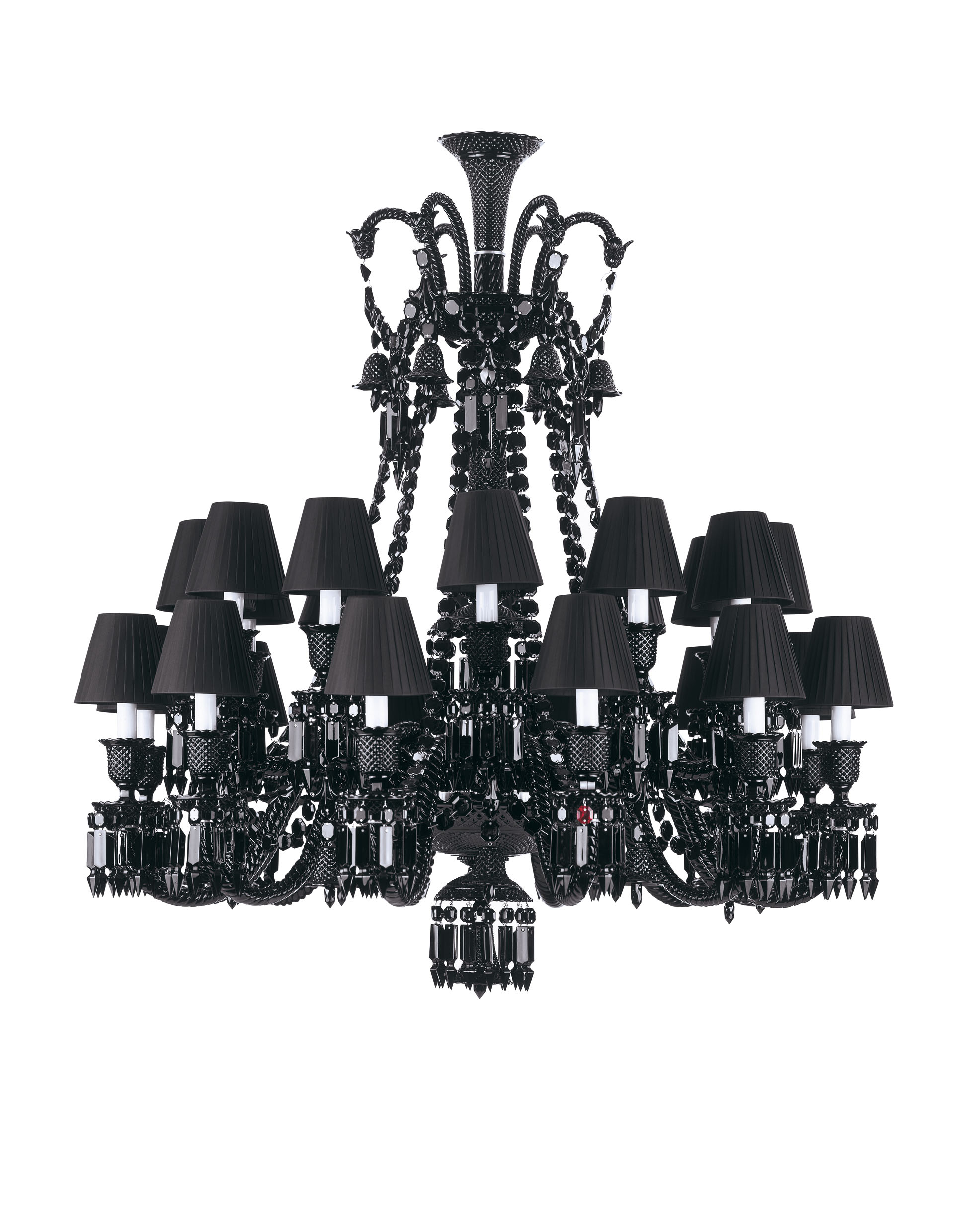 01 baccarat philippe starck zenith chandelier 2003 light for Lustre metal noir