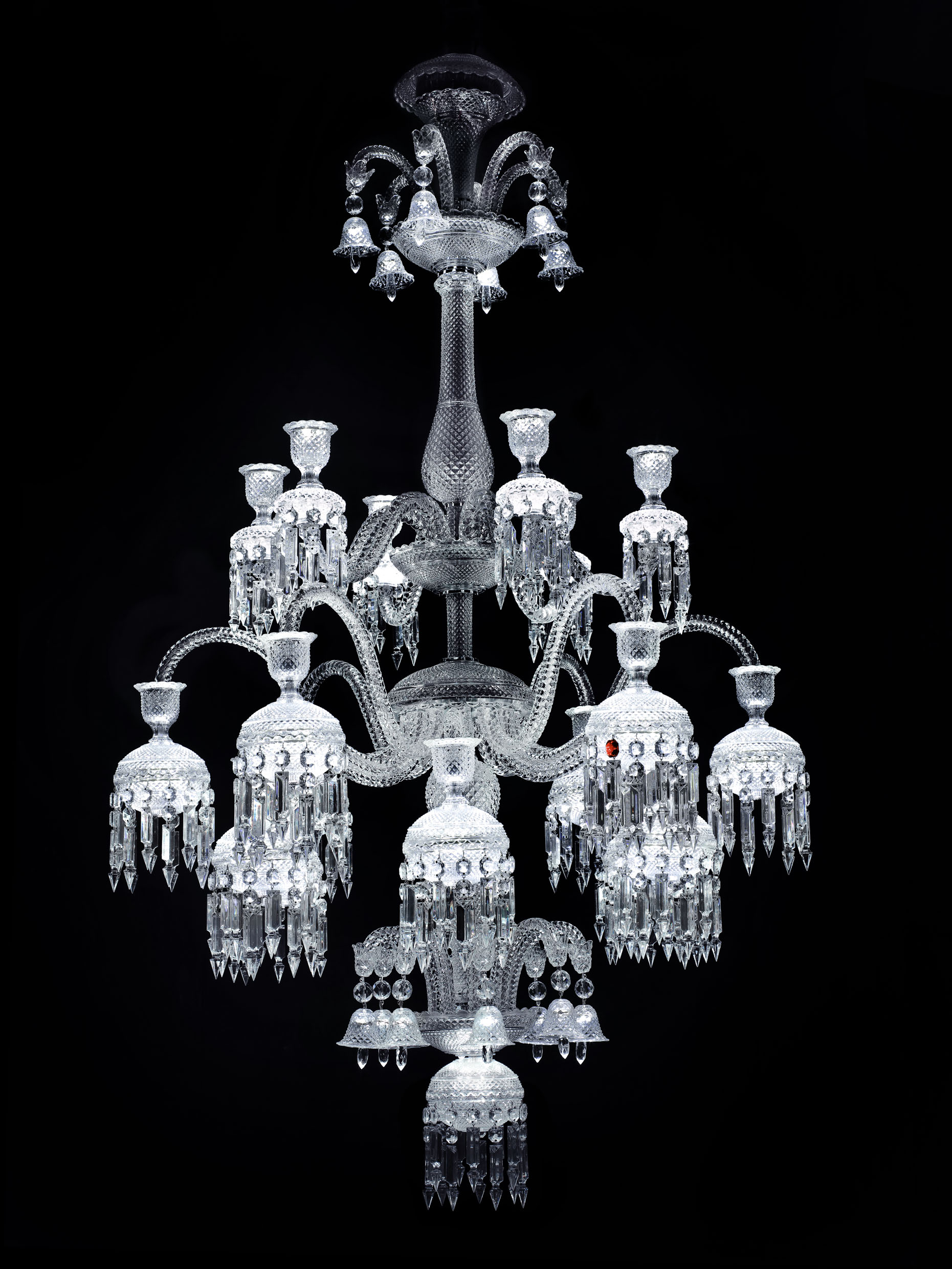 Report from the opening of the exhibition chandeliers juwels of baccarat solstice comte 2010 kristall baccarat arubaitofo Images
