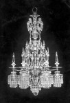 """J. & L. Lobmeyr Chandelier 2540-10 """"First Electrical"""" / """"Edison"""" - Erster elektrischer Kristallluster mit Edisonlampen, Ludwig Lobmeyr 1883; Photo: © J. & L. Lobmeyr, Wien"""