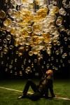 """Jitka Kamencová Skuhravá - Lasvit - glass object """"Bubbles in Space"""", 2008 - 02 dia 4m"""