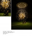 """Jitka Kamencová Skuhravá - Lasvit - glass object """"Bubbles in Space"""", 2008 - 03 dia 4m"""