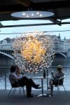"""Jitka Kamencová Skuhravá - Lasvit - glass object """"Bubbles in Space"""", 2008 - 05 173"""