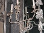 1. Wandbranche (3-armig), Inv.-Nr. VIII 488, um 1765, Neues Palais Stiftung Preußische Schlösser und Gärten Berlin-Brandenburg / Fotograf: Ulrike Milde