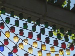 Festliche Gartenillumination / Illumination for Garden Festivities