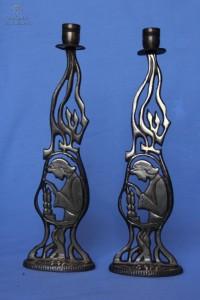 Lights of Sabbath: Rimma Boboba's Candlestick Collection