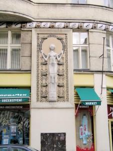 Jugendstil Motiv, Prag