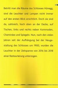 Broschüre Leuchter 18 RS